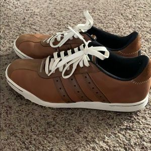 Adidas Leather Golf Shoes